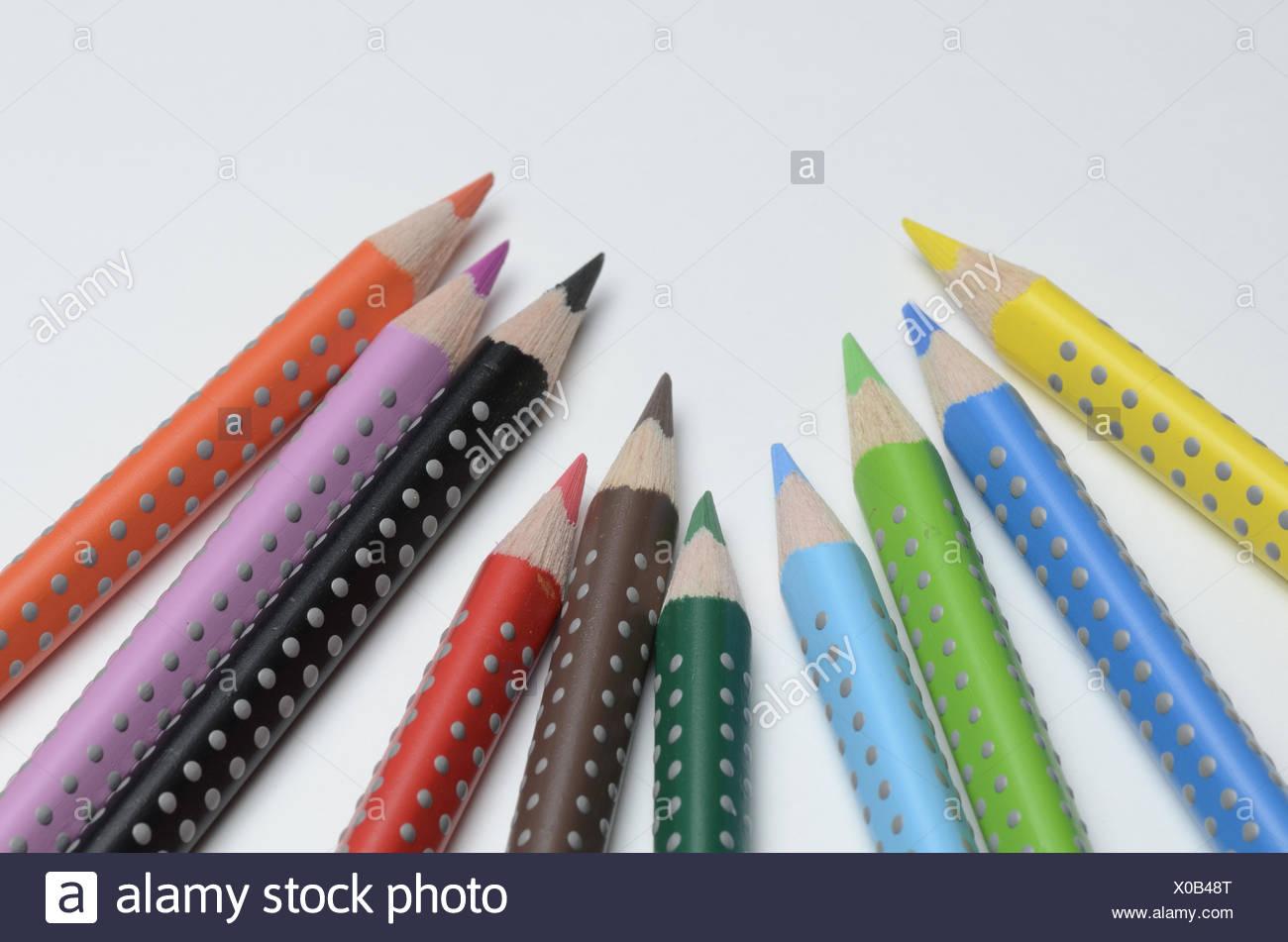 Colored pencil - Stock Image