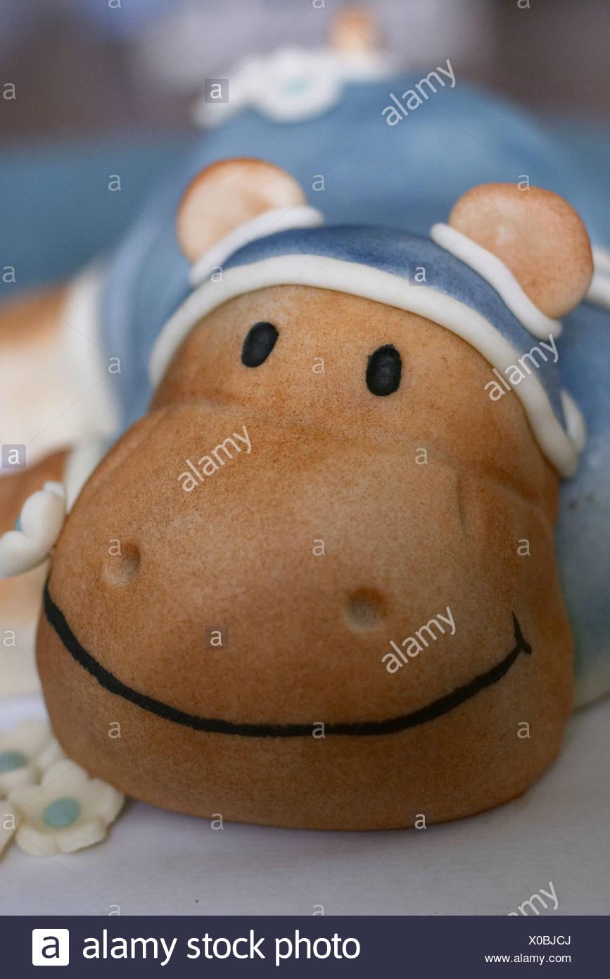 Magnificent Hippo Birthday Cake Stock Photo 275621826 Alamy Personalised Birthday Cards Akebfashionlily Jamesorg
