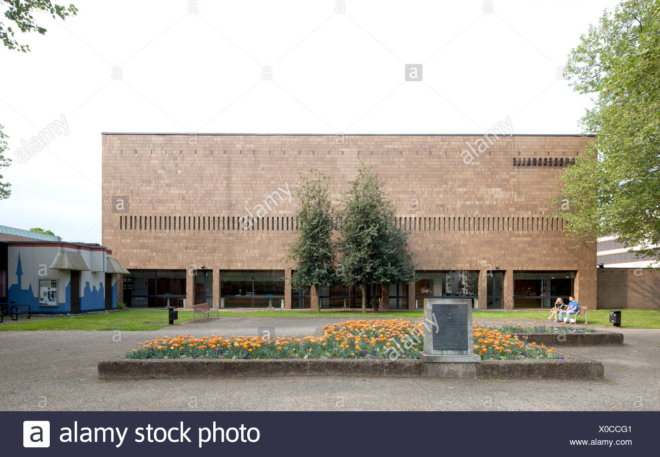 Civic Hall Giessen, congress and event centre, Giessen, Hesse, Germany, Europe, PublicGround - Stock Image