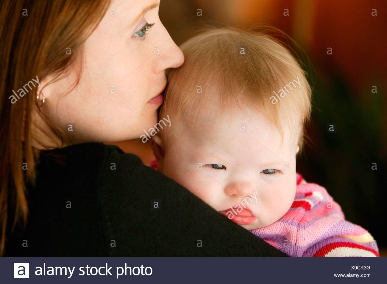 Mother and daughter - Stock Image