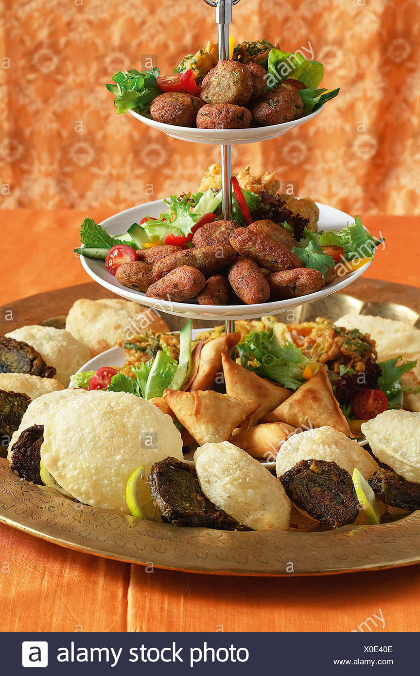 Indian Food Platter High Resolution Stock Photography And Images Alamy