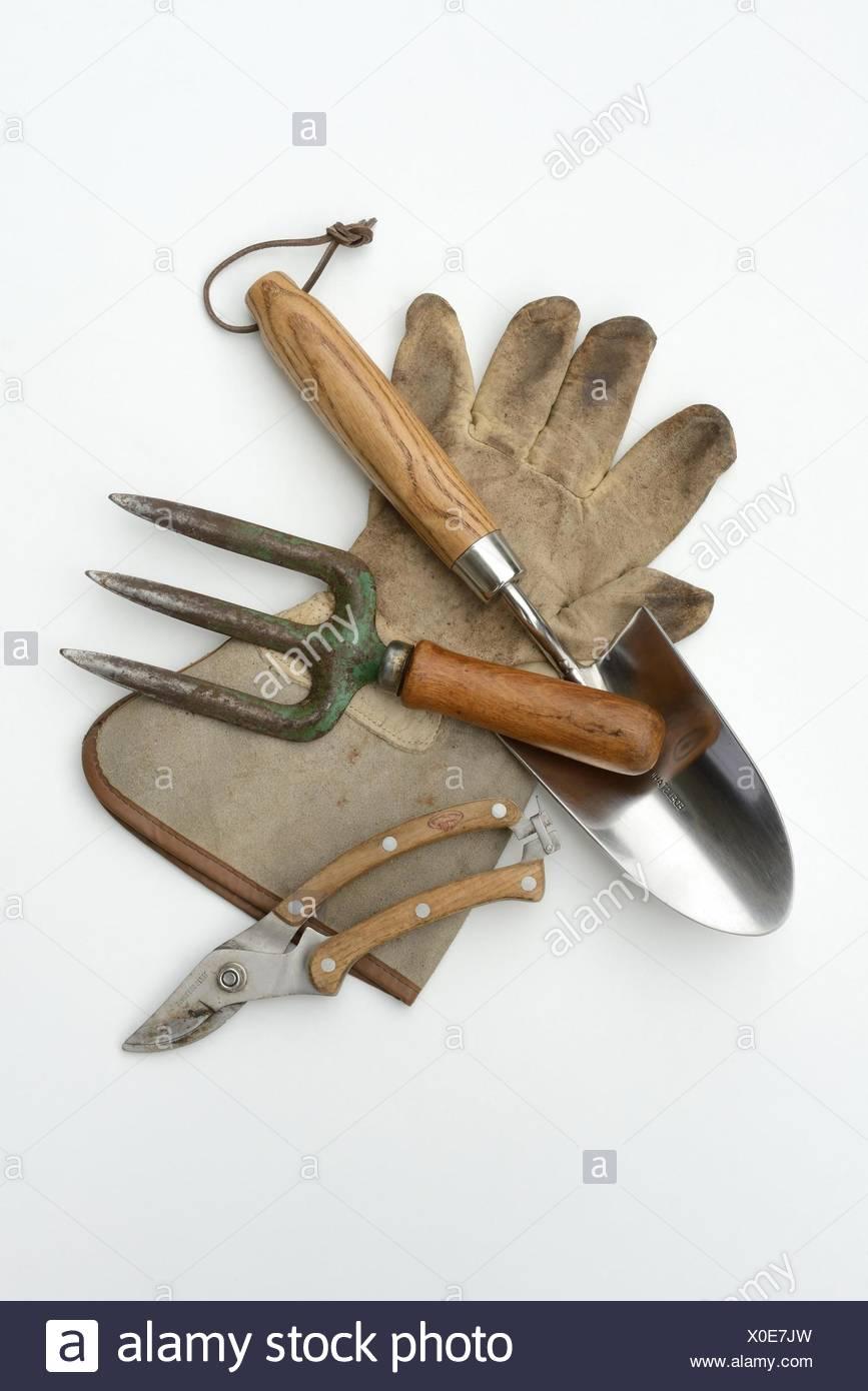 gardening tools - Stock Image