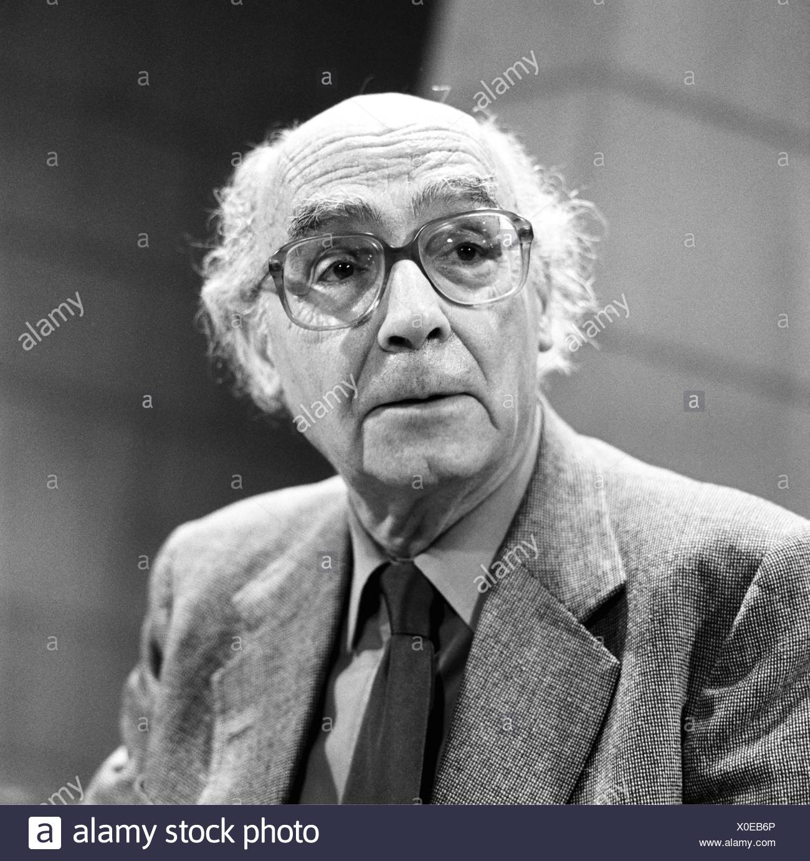 Saramago, José, 16.11.1922 - 18.6.2010, Portugese author / writer, portrait, 27.10.1999, Additional-Rights-Clearances-NA - Stock Image