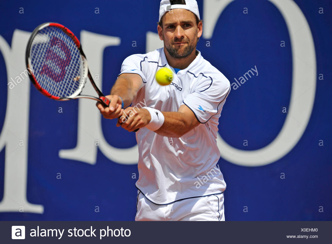 Nicolas Kiefer, Germany, Mercedes Cup Stuttgart 2009, Baden-Wuerttemberg, Germany, Europe - Stock Image