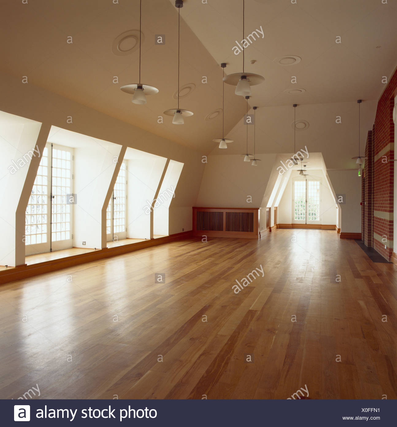 office space lighting lighting layout plan modern pendant lighting and wooden floor in empty commercial office space loft conversion