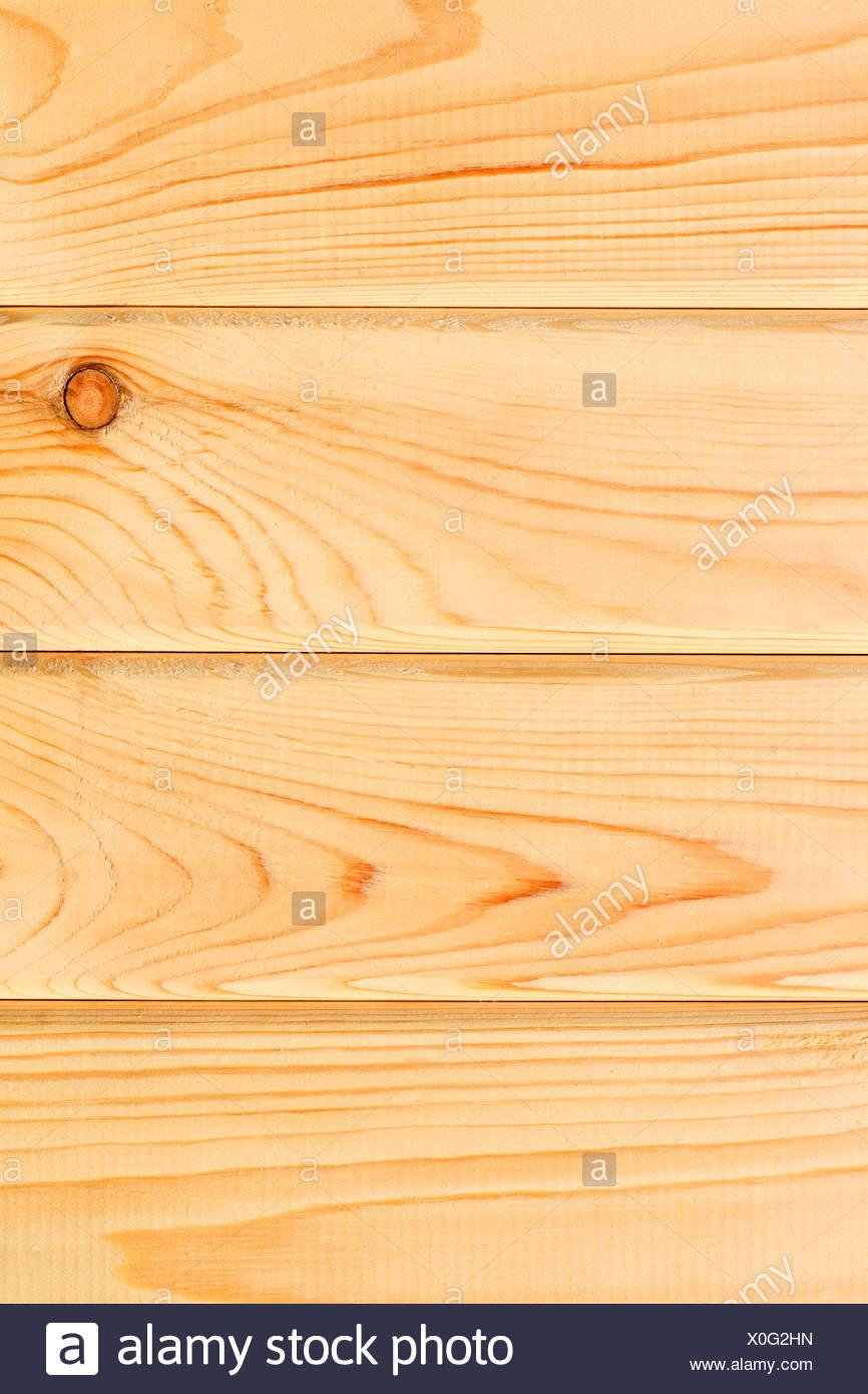 light bright wooden planks - Stock Image