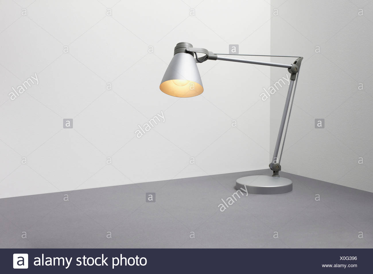 Desk lamp - Stock Image