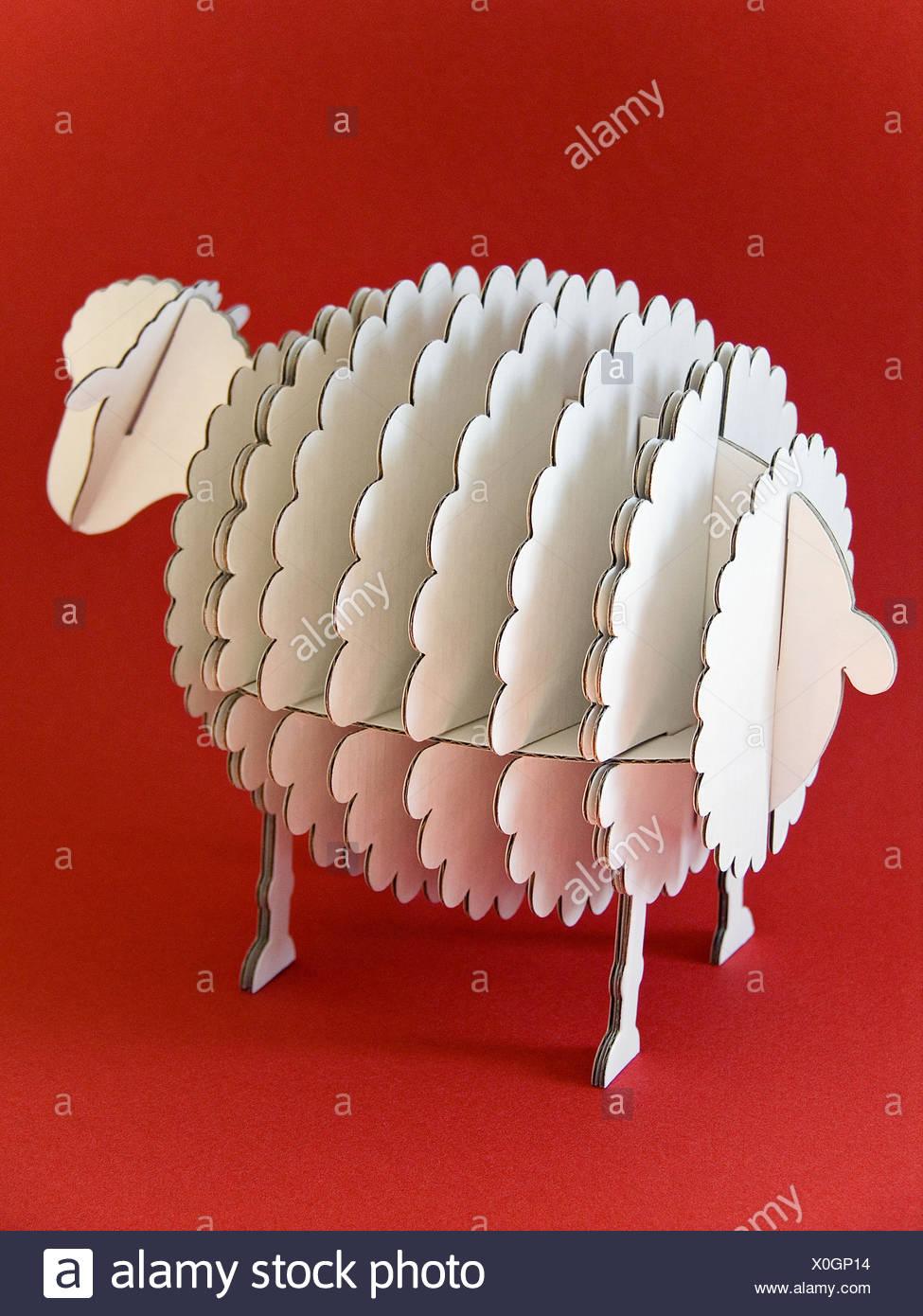 cardboard sheep template.html
