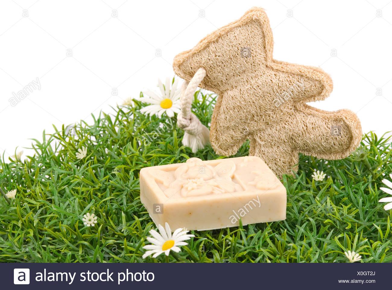 manual soap - Stock Image