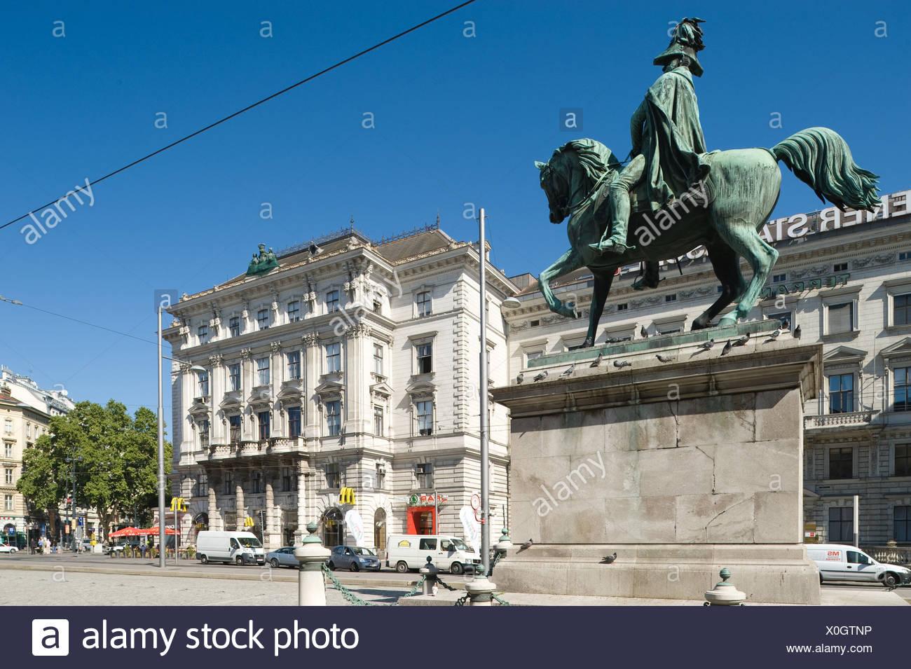 Wien Schwarzenbergplatz Palais Wertheim Stock Photo 275736546 Alamy