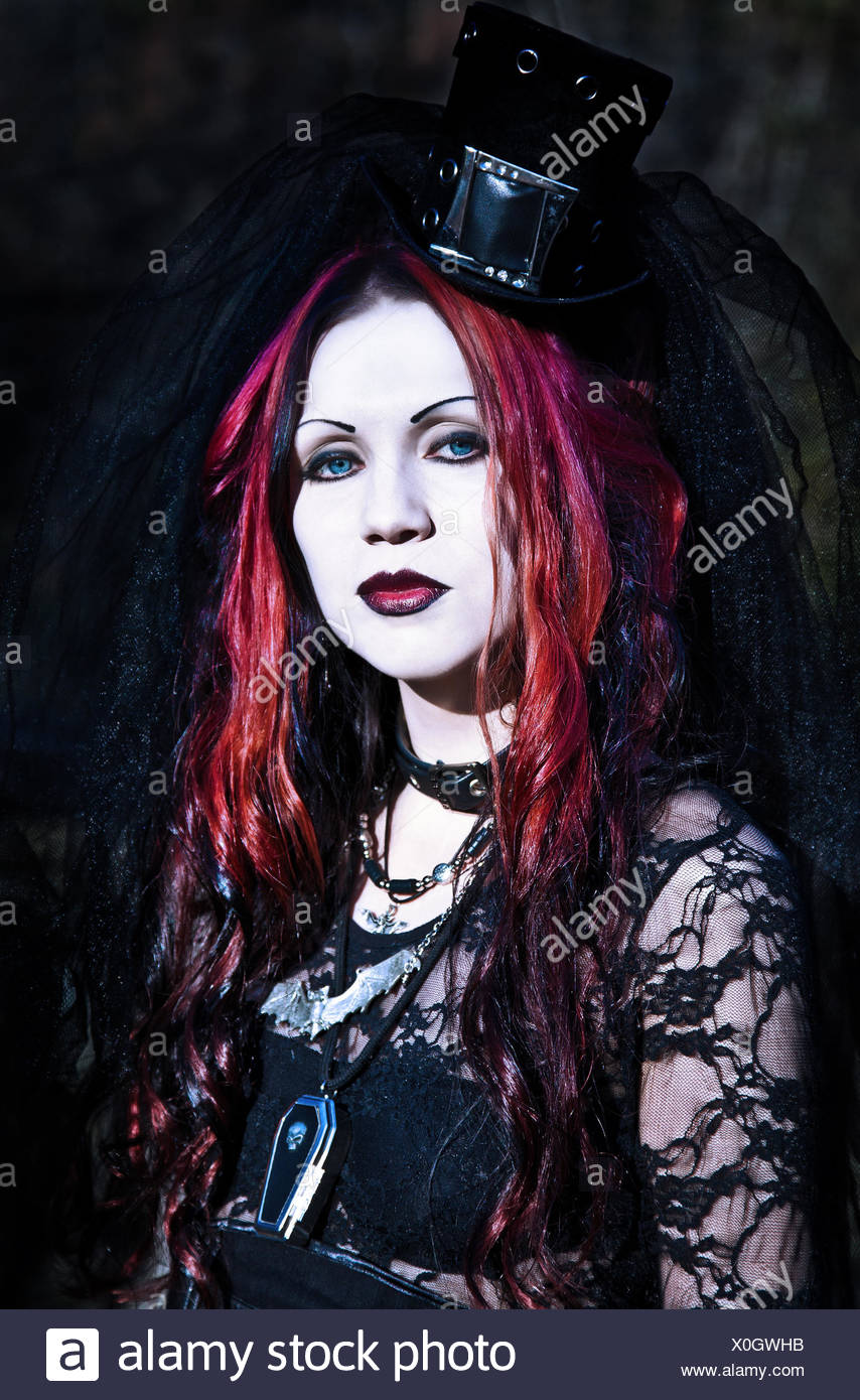 Red Hair Gothic Girl