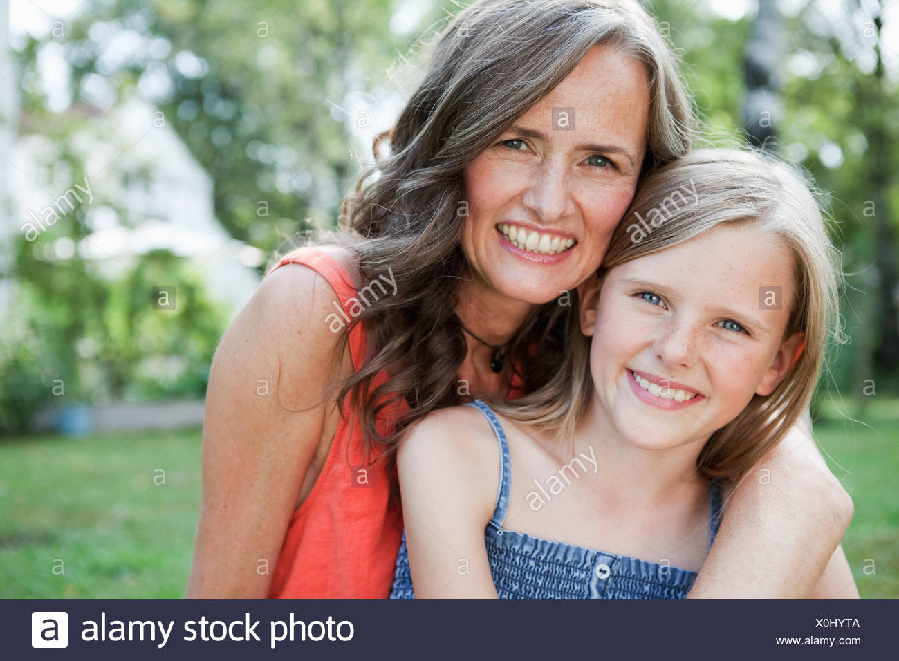 Mother and sister self girl