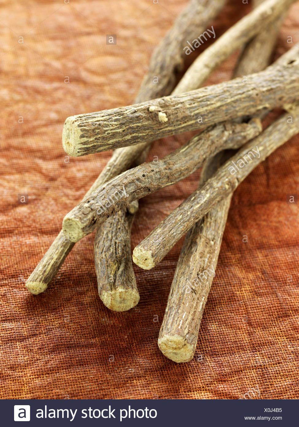 Licorice sticks - Stock Image