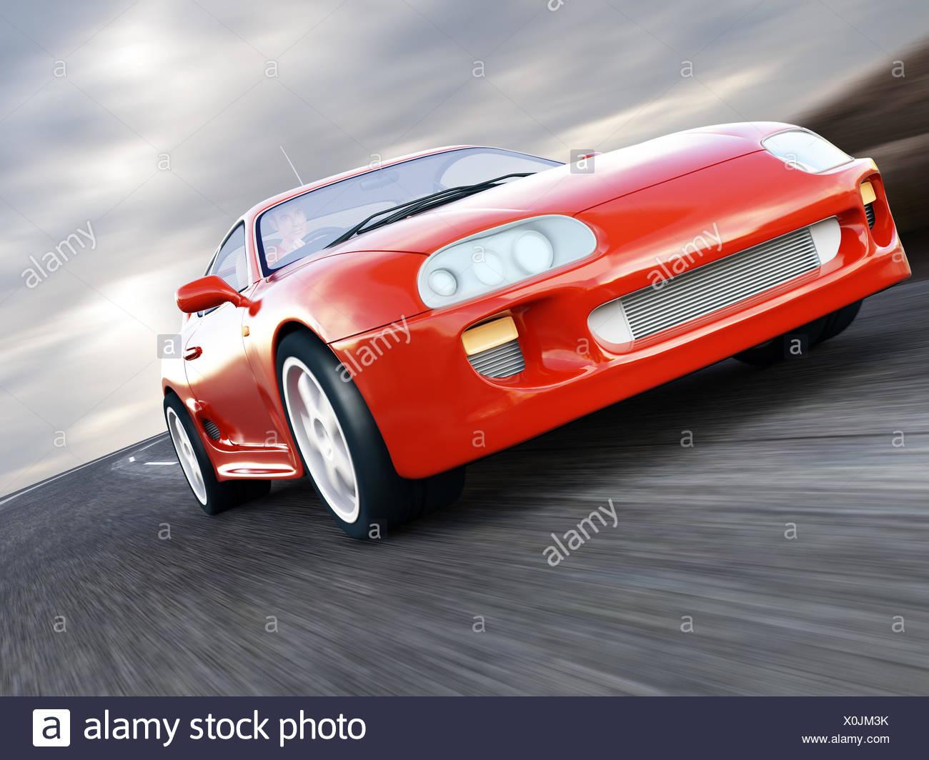 Sports Car - Stock Image