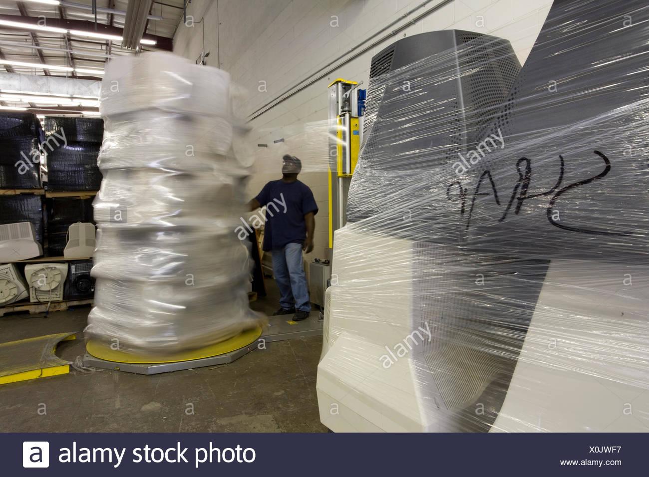 Elecronics Recycler in Salley, South Carolina - Stock Image