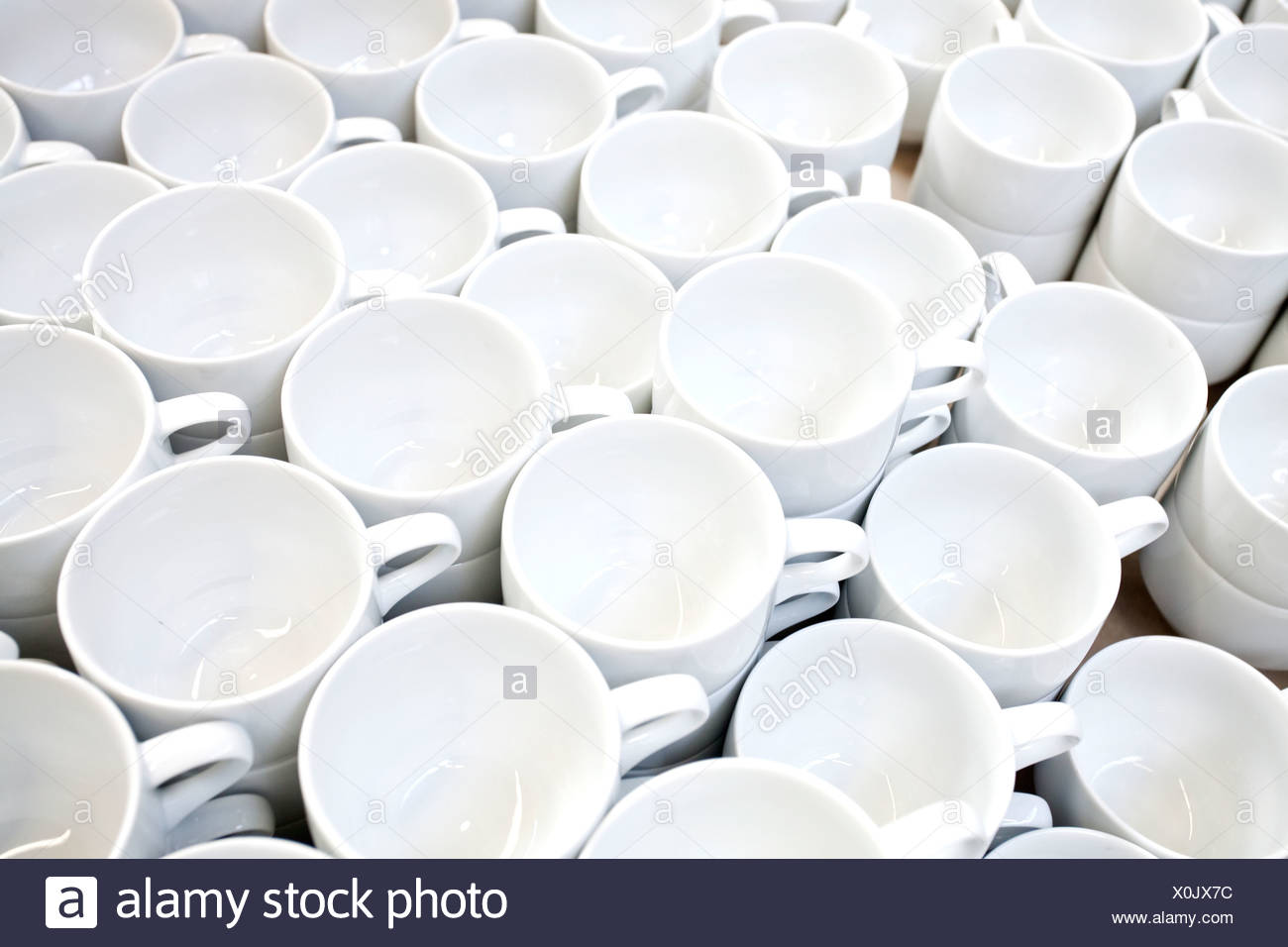Coffee mugs from Rosenthal in the production of tableware at the porcelain manufacturer Rosenthal GmbH Speichersdorf Bavaria  sc 1 st  Alamy & Coffee mugs from Rosenthal in the production of tableware at the ...