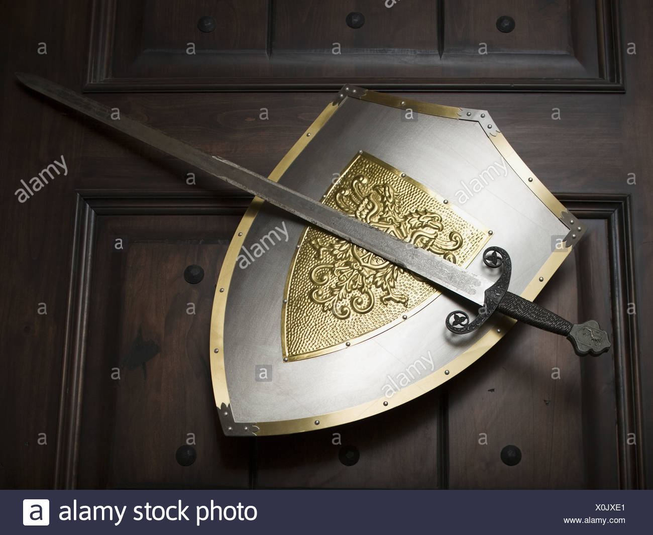 Medieval Sword And Shield