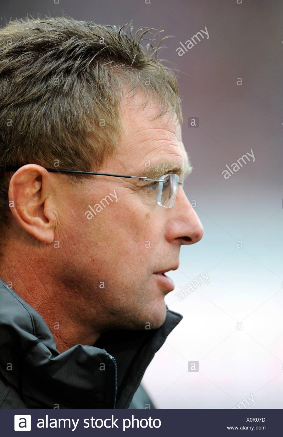 Ralf Rangnick, coach of TSG 1899 Hoffenheim - Stock Image