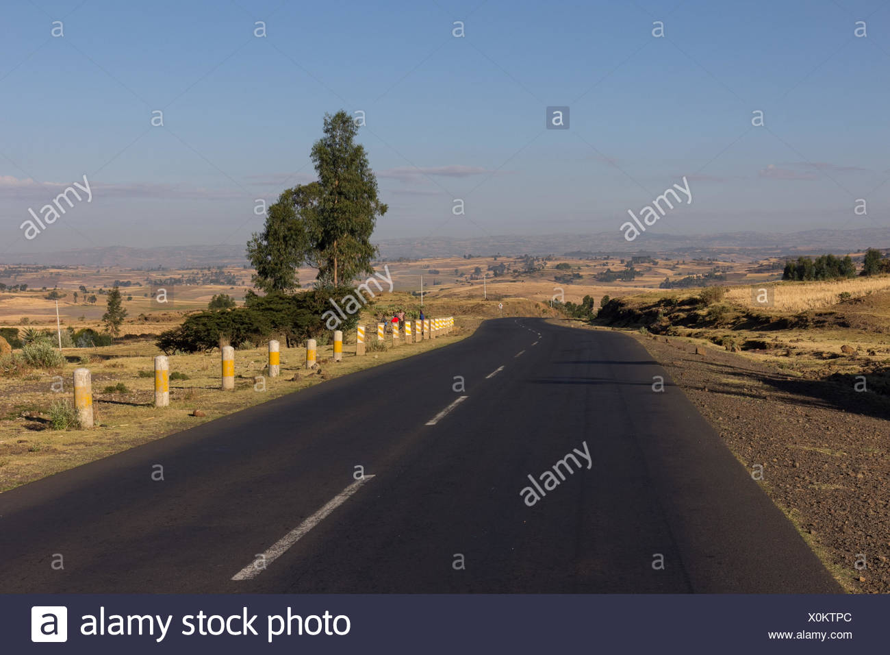 road in the highland - Stock Image