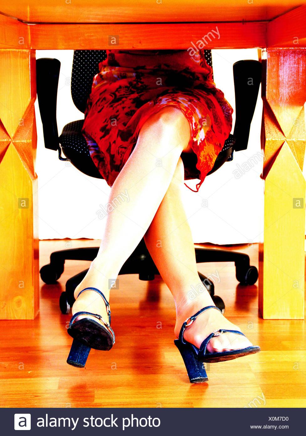 restless legs 05 - Stock Image