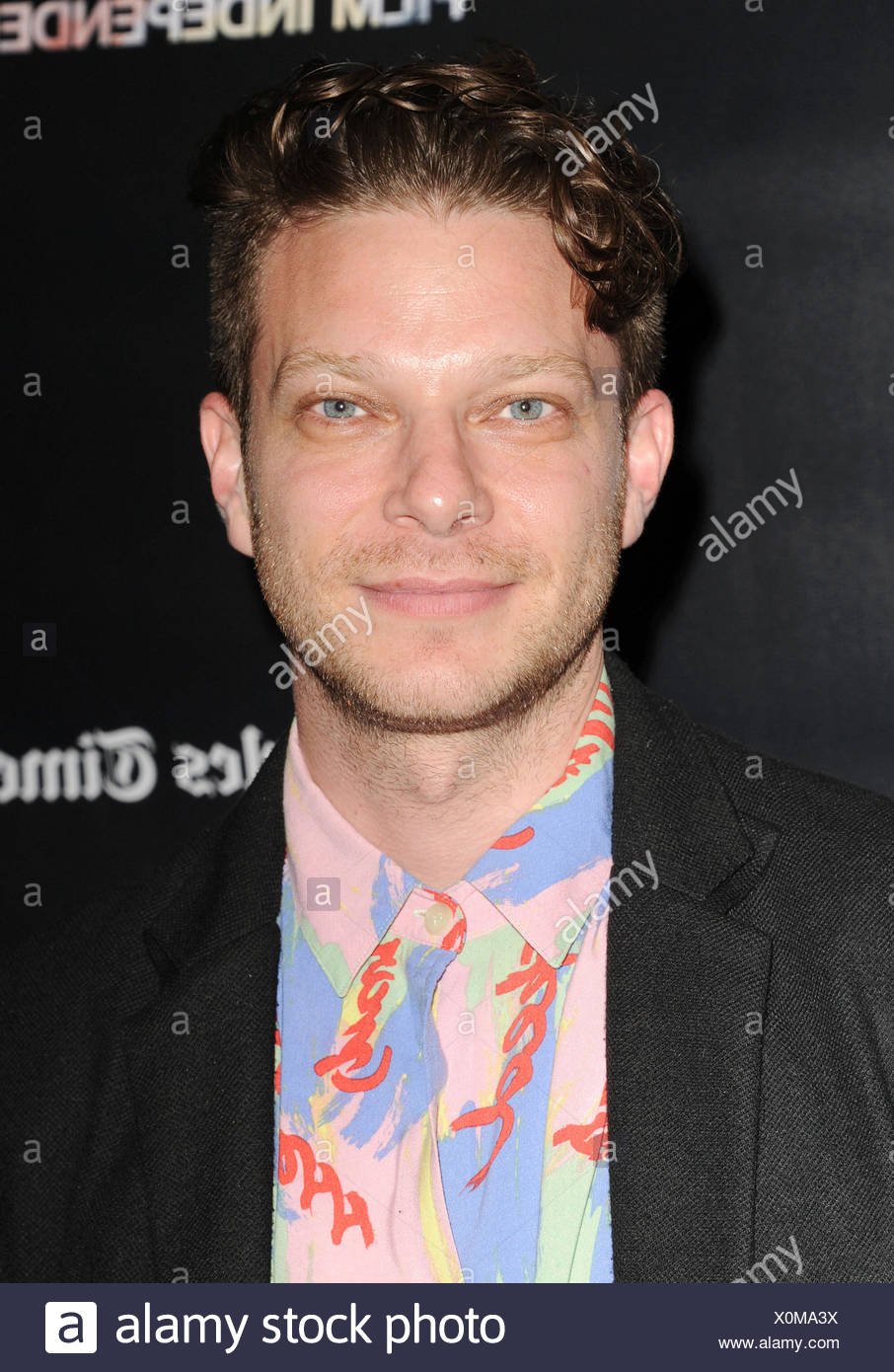 Director Todd Strauss-Schulson attends 'The Final Girls' screening during the 2015 Los Angeles Film Festival at Regal Cinemas L.A. Live on June 16, 2015 in Los Angeles, California., Additional-Rights-Clearances-NA - Stock Image