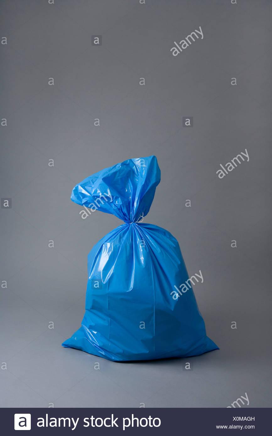A bag of rubbish - Stock Image
