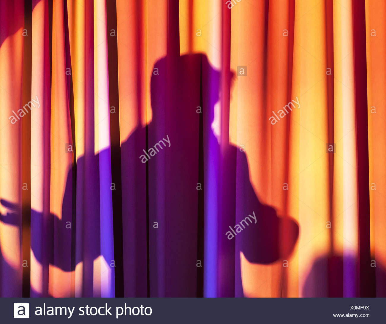 Backstage - Stock Image
