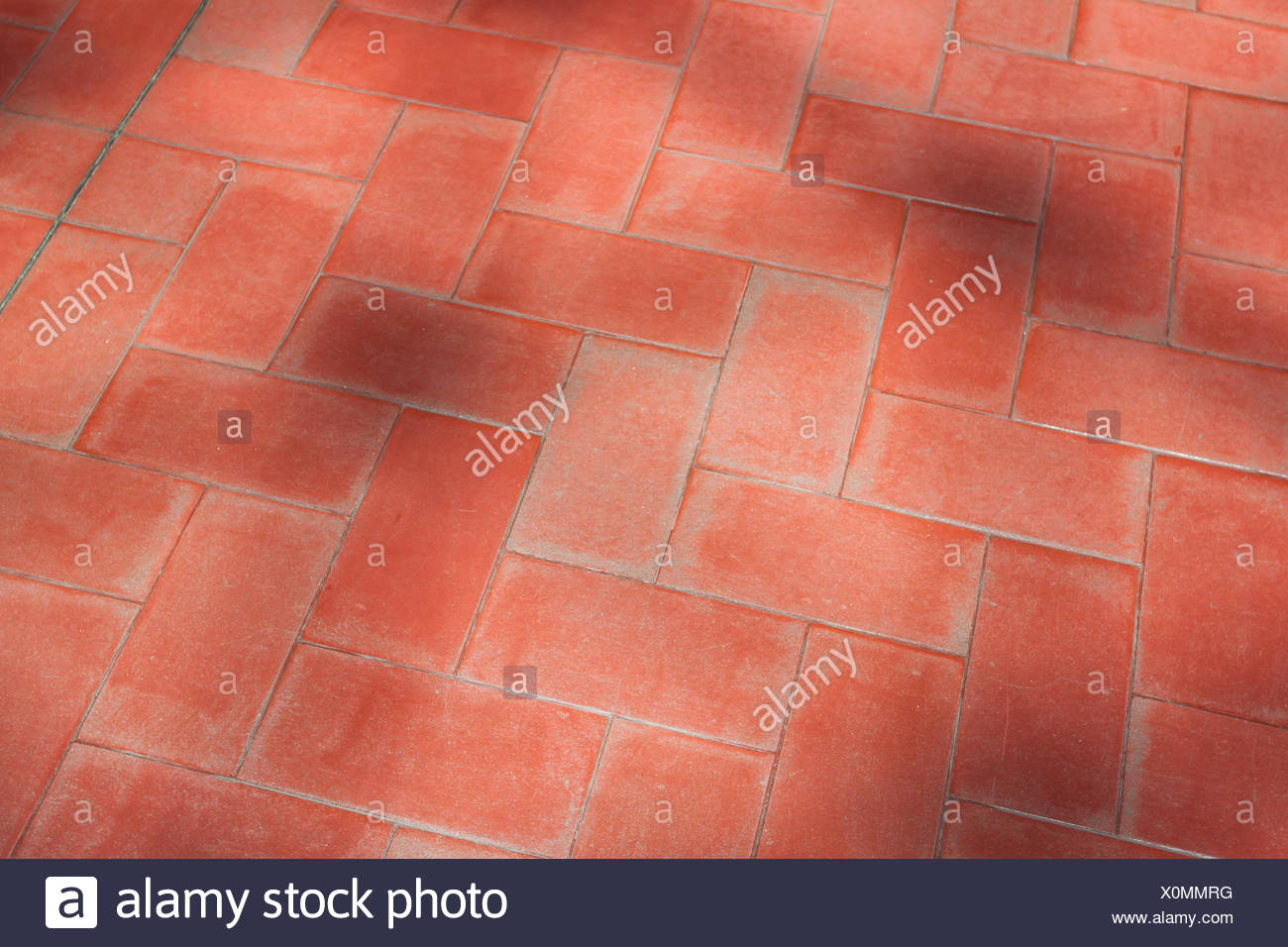 red floor tiles texture.  Texture Red Floor Tiles With Shadows From Trees  Stock Image In Floor Tiles Texture I