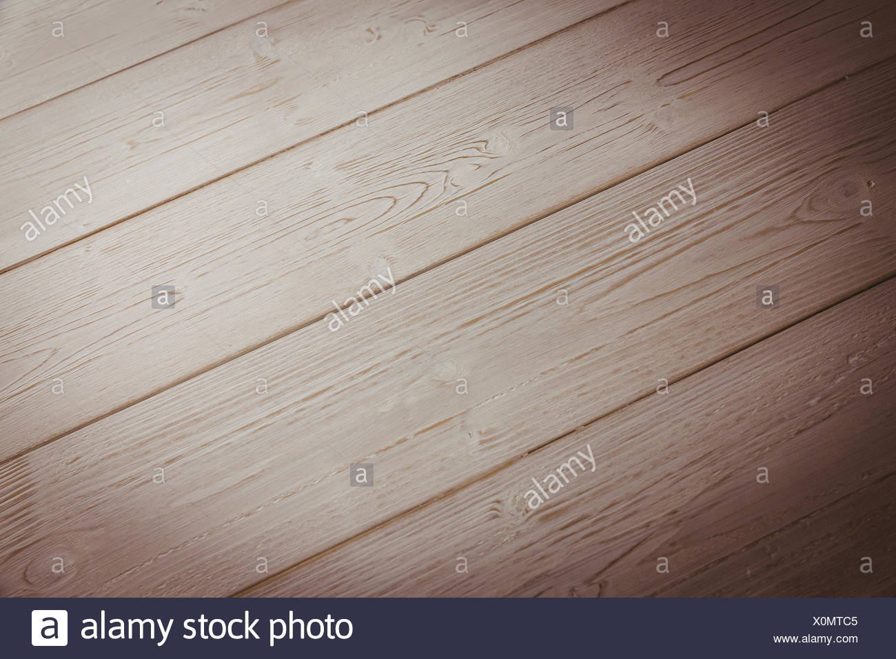 Wooden table - Stock Image