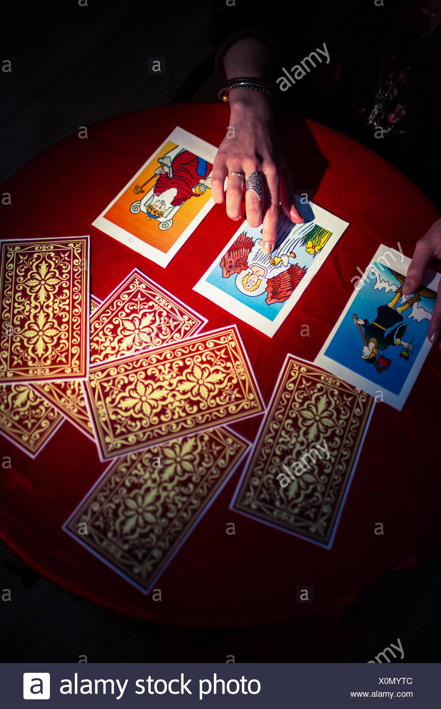 Tarot Cards Stock Photos & Tarot Cards Stock Images