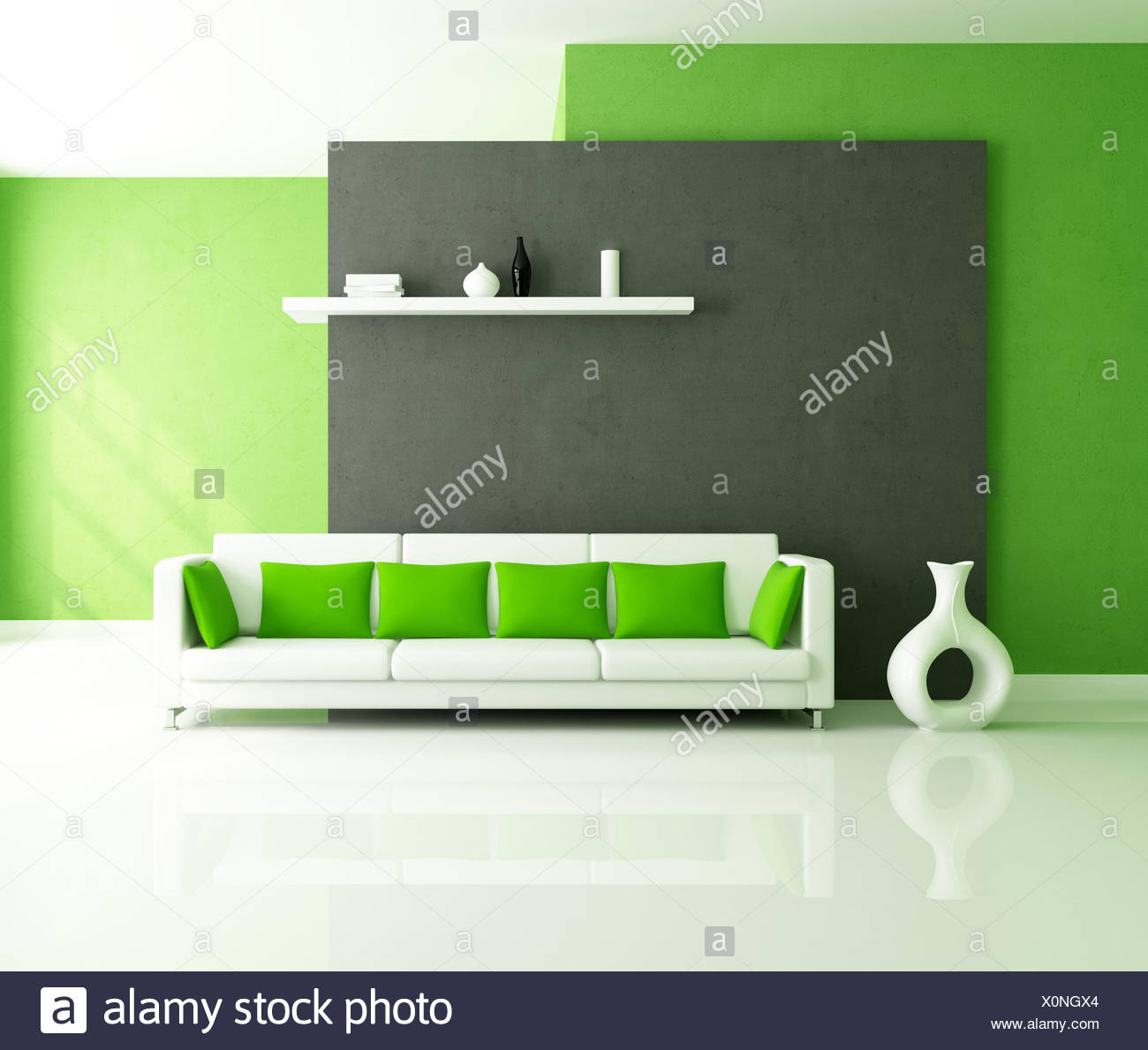 furniture modern modernity - Stock Image