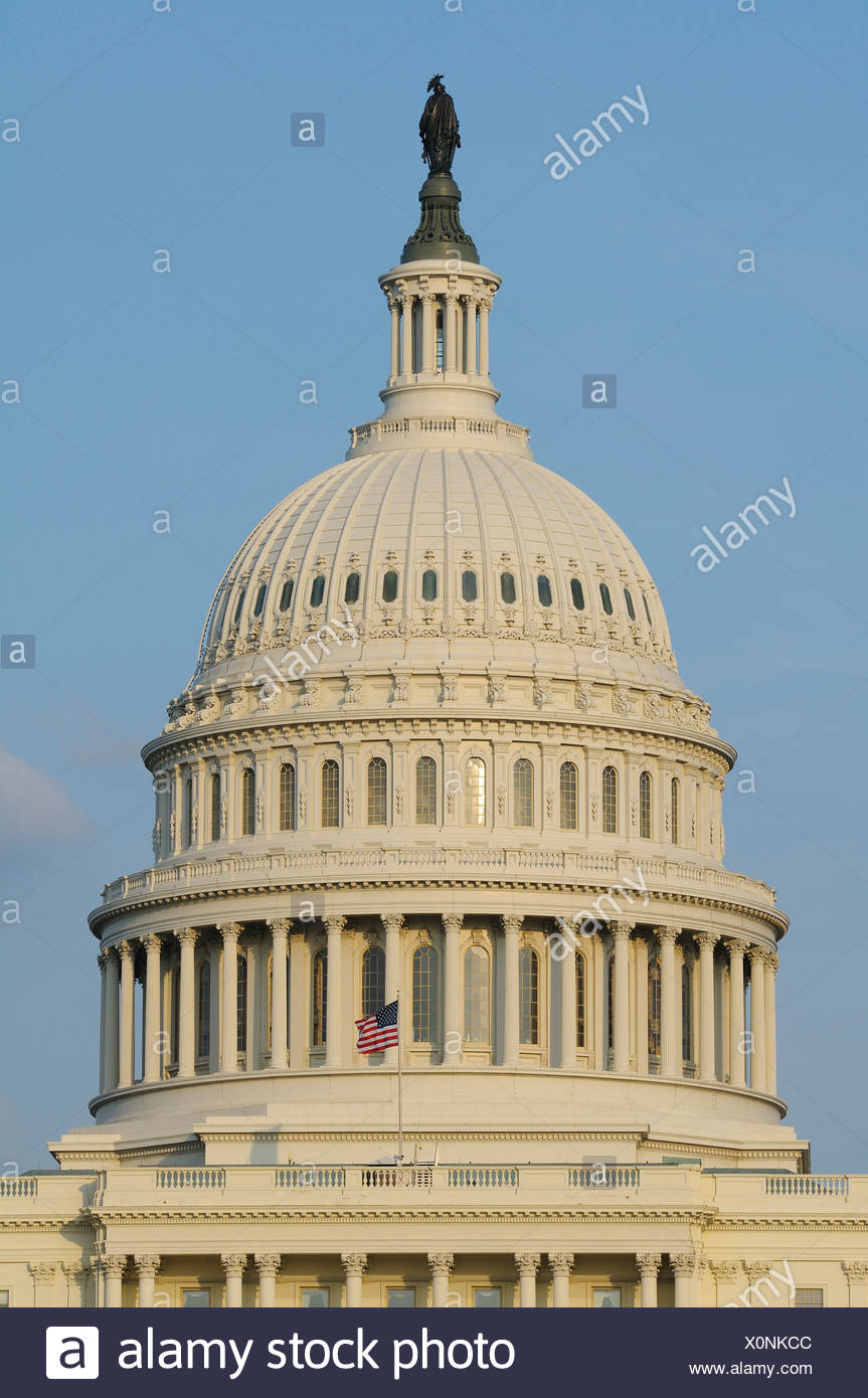 U.S., Capitol, The Mall, Washington D.C., District of Columbia, USA, United States, America, - Stock Image