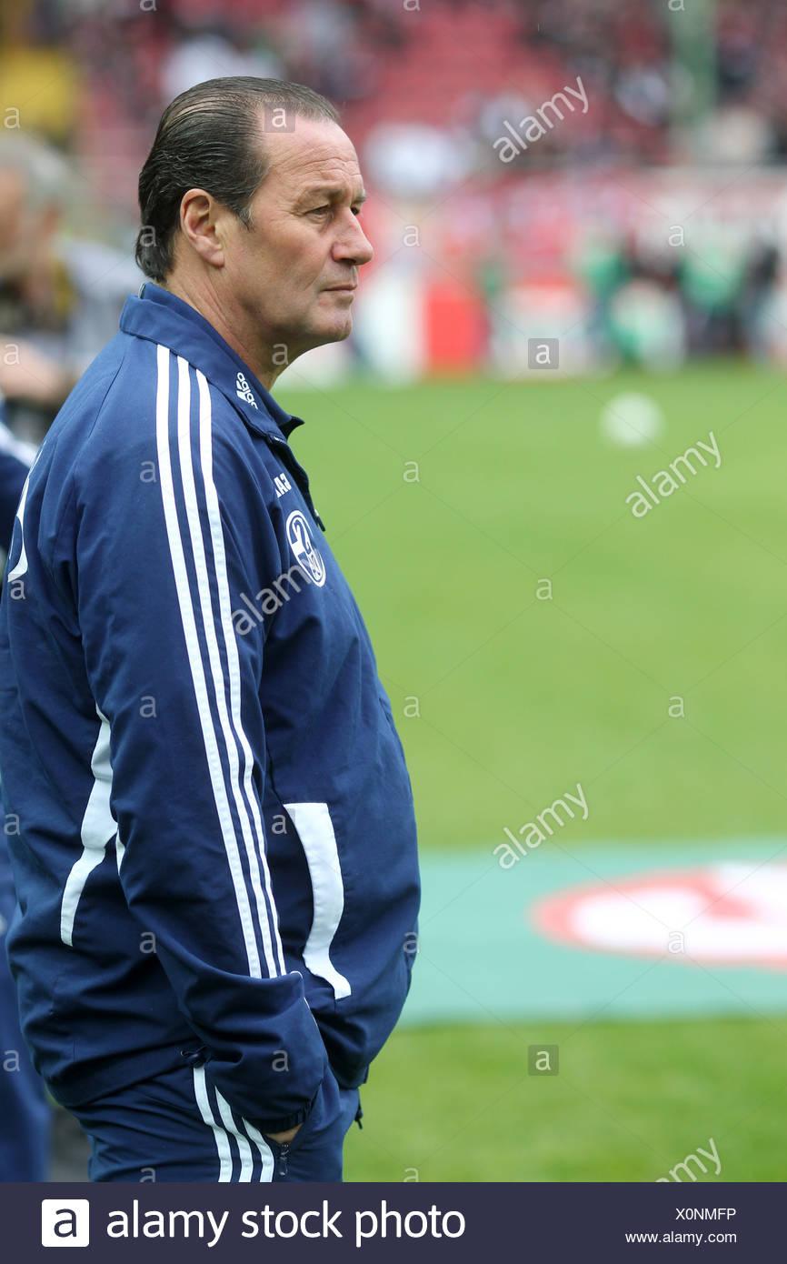 Huub Stevens Coach Of The Bundesliga Football Club Schalke 04 Kaiserslautern Rhineland