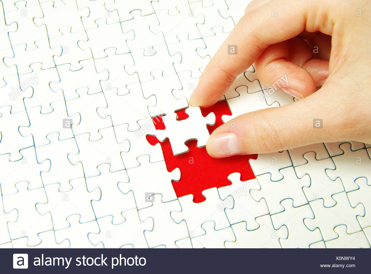 puzzle - Stock Image