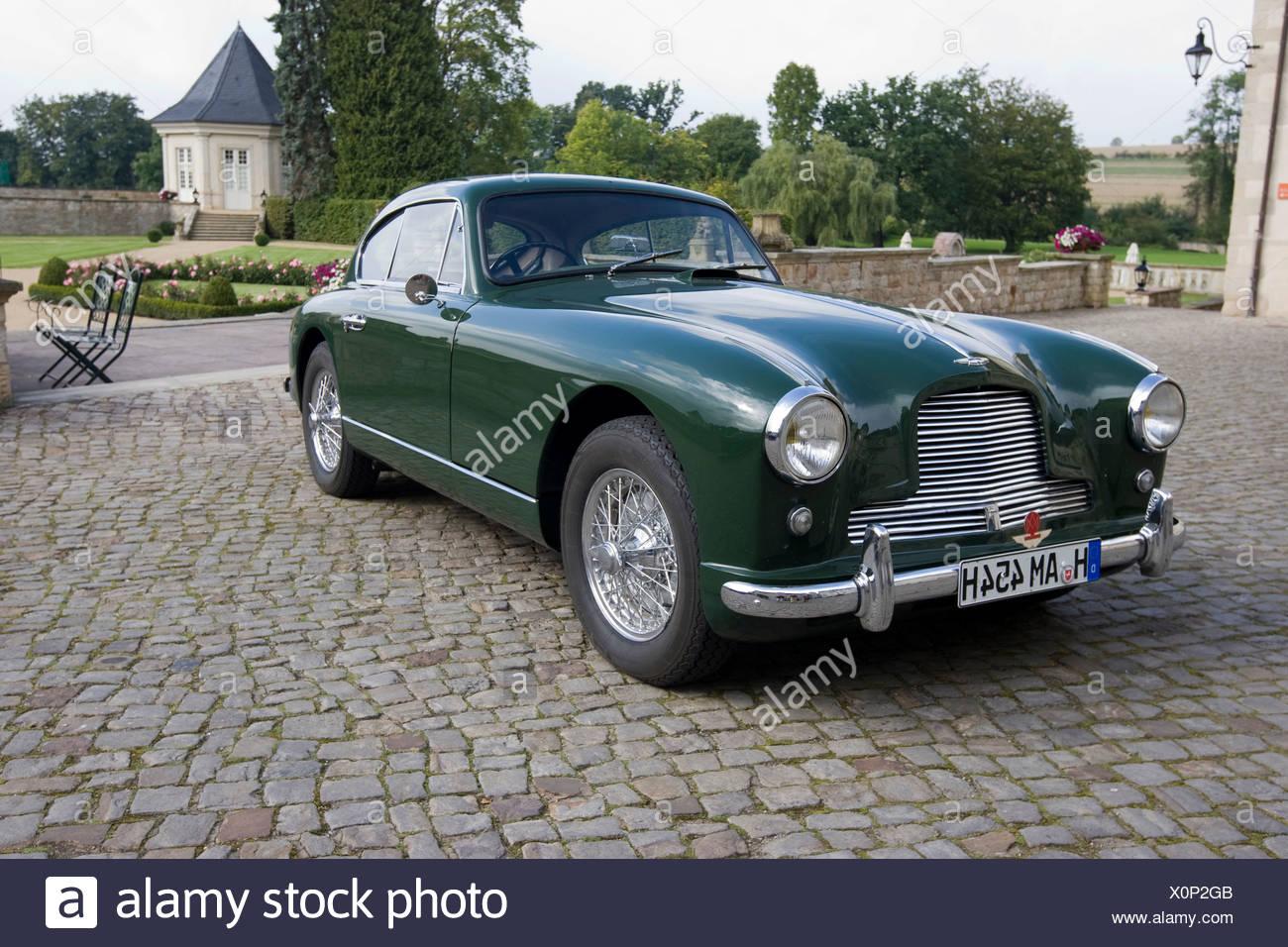 Aston Martin DB 2/4 Mark II, Aston Martin Meet, Lower Saxony, Germany, Europe - Stock Image