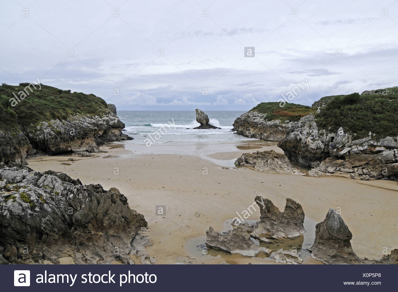 Playa de Buelna - Stock Image
