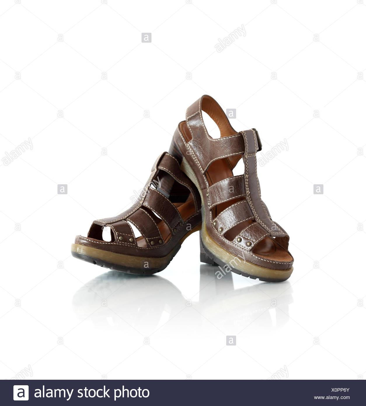 Stylish Female Summer Shoes - Stock Image