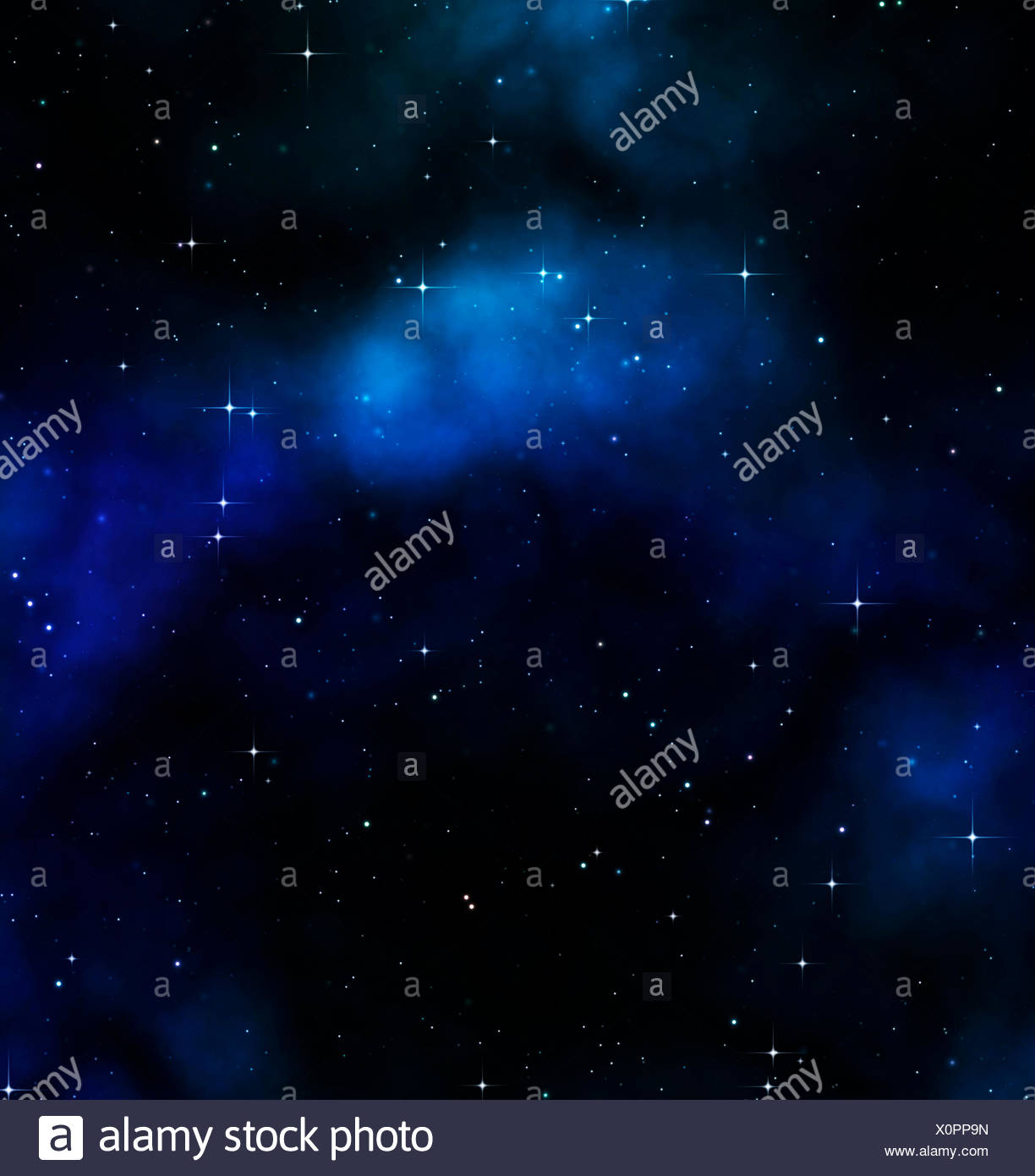 art space science - Stock Image