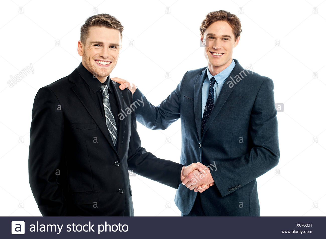 The deal has been finalized. - Stock Image