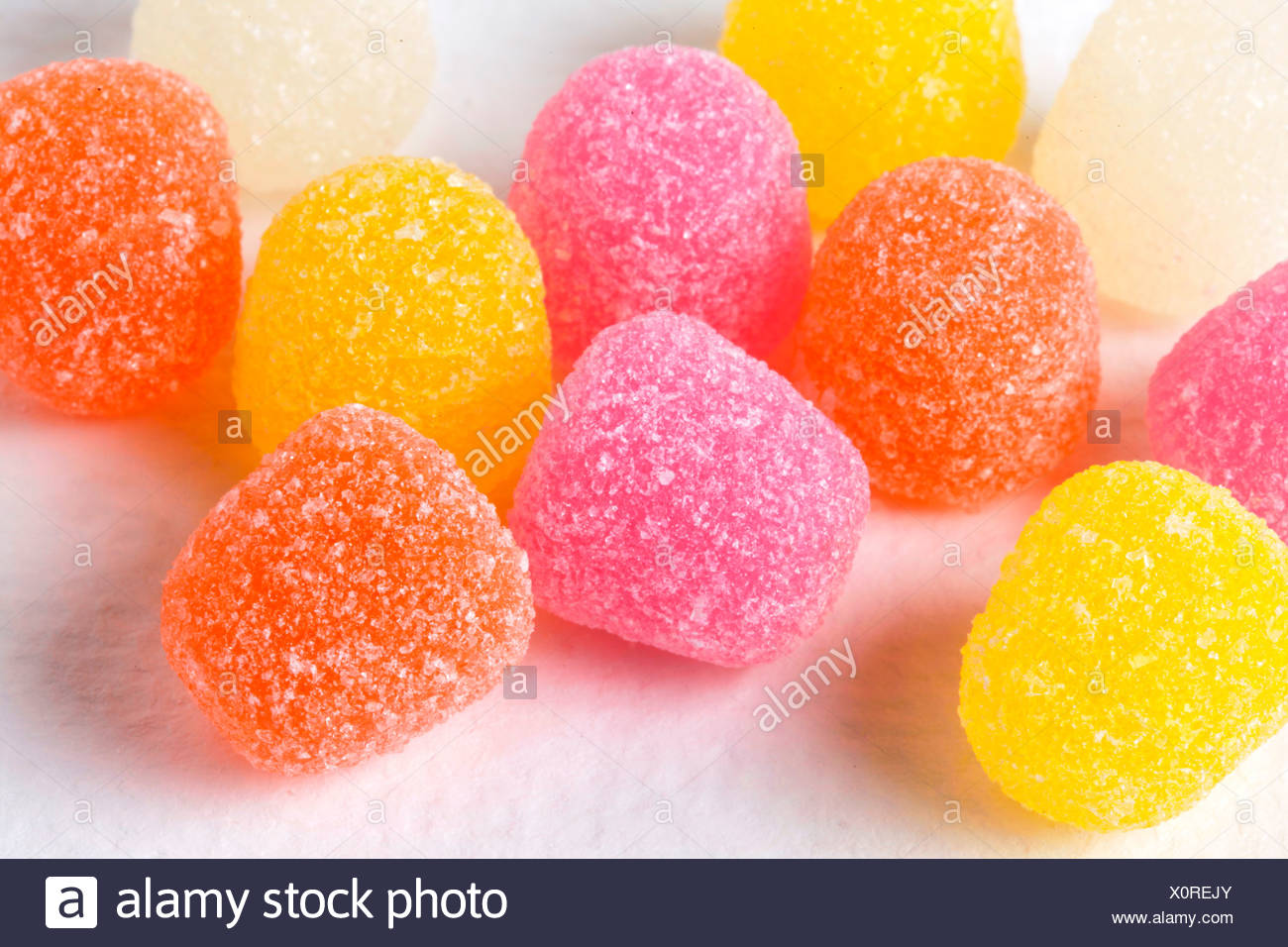 TRADITIONAL USA CANDY - Stock Image