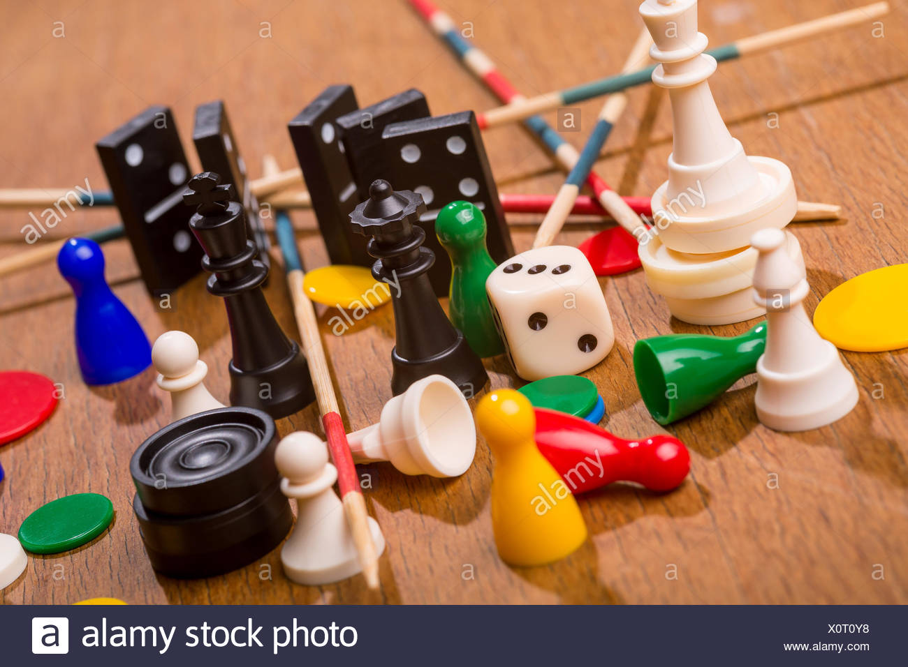 Game items - Stock Image