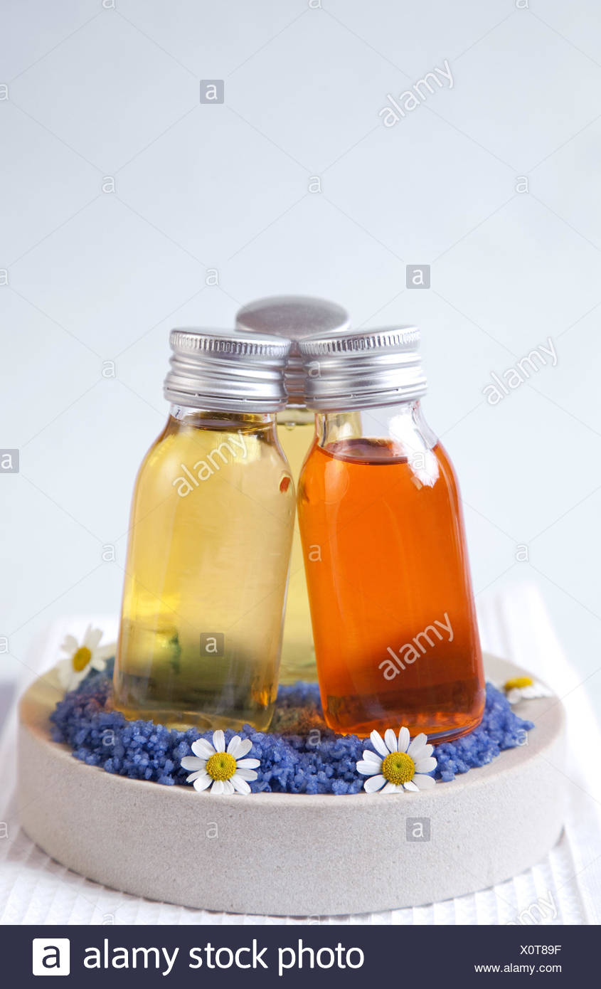 Medicine, alternative medicine, cure, bath additive, - Stock Image