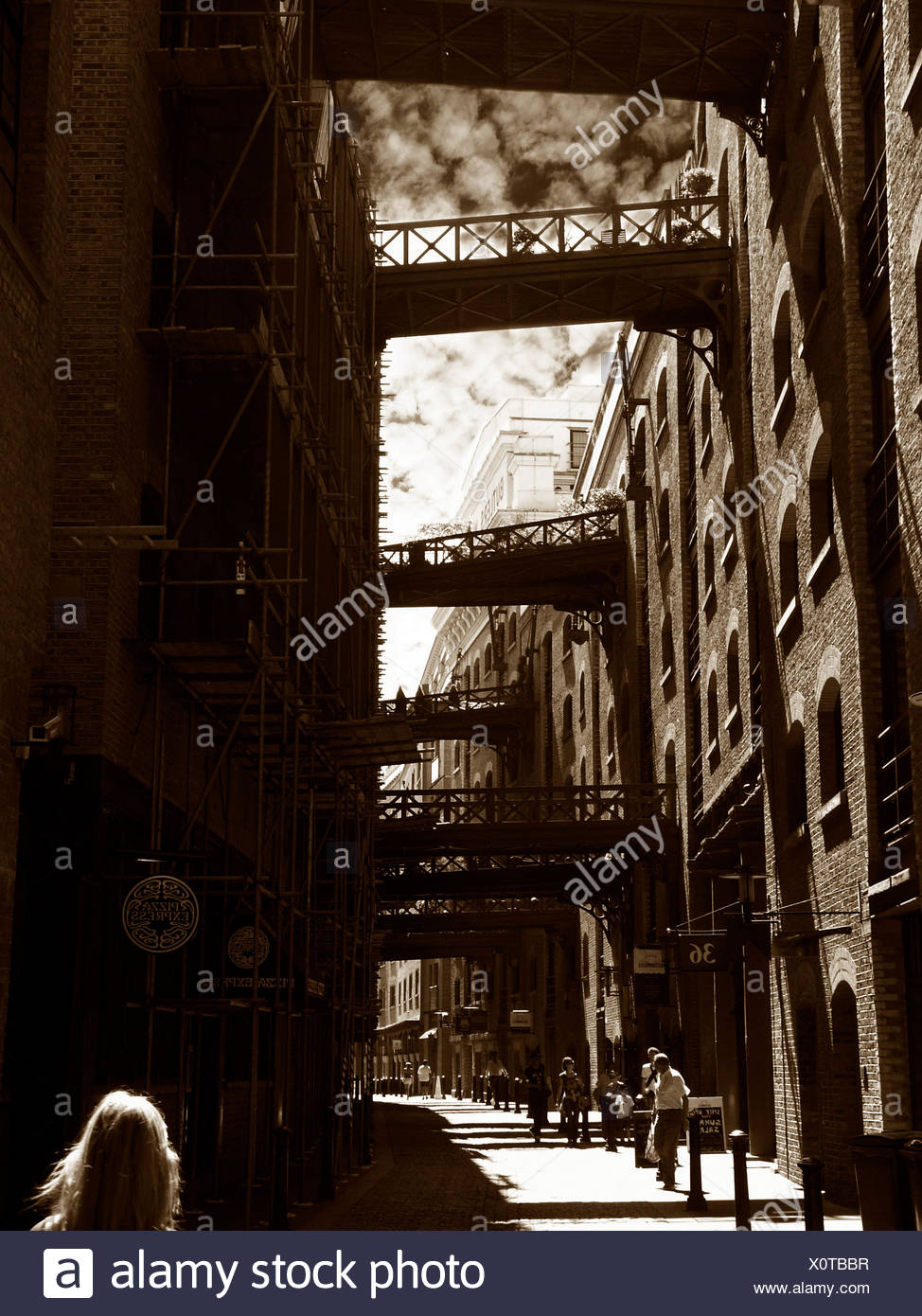old londen - Stock Image