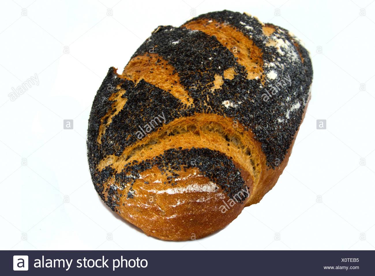 Multigrain Poppyseed Loaf - Stock Image