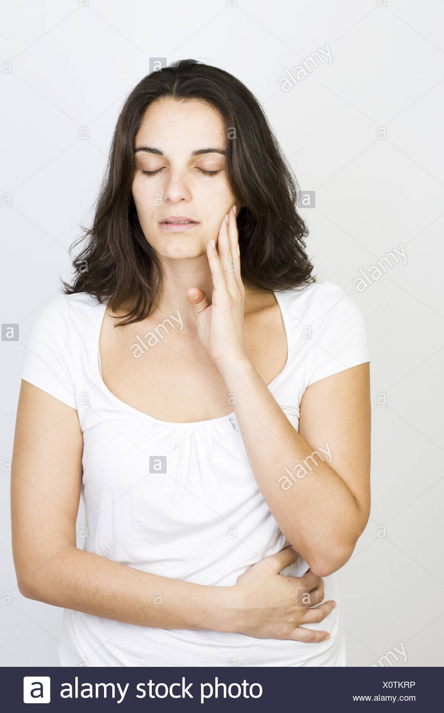 Toothache - Stock Image