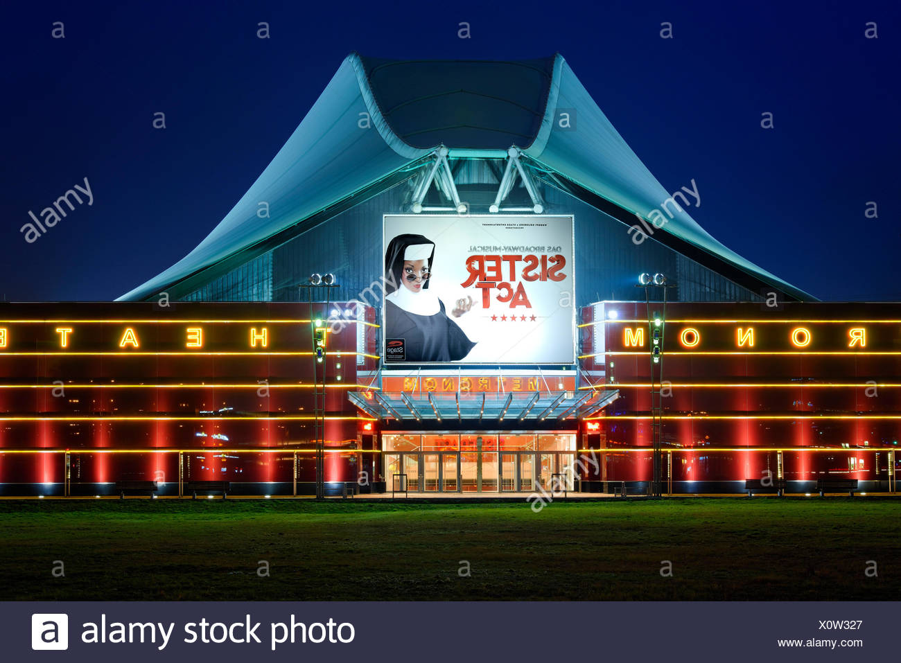 Metronom theatre, Oberhausen, Ruhr area, North Rhine-Westphalia, Germany - Stock Image