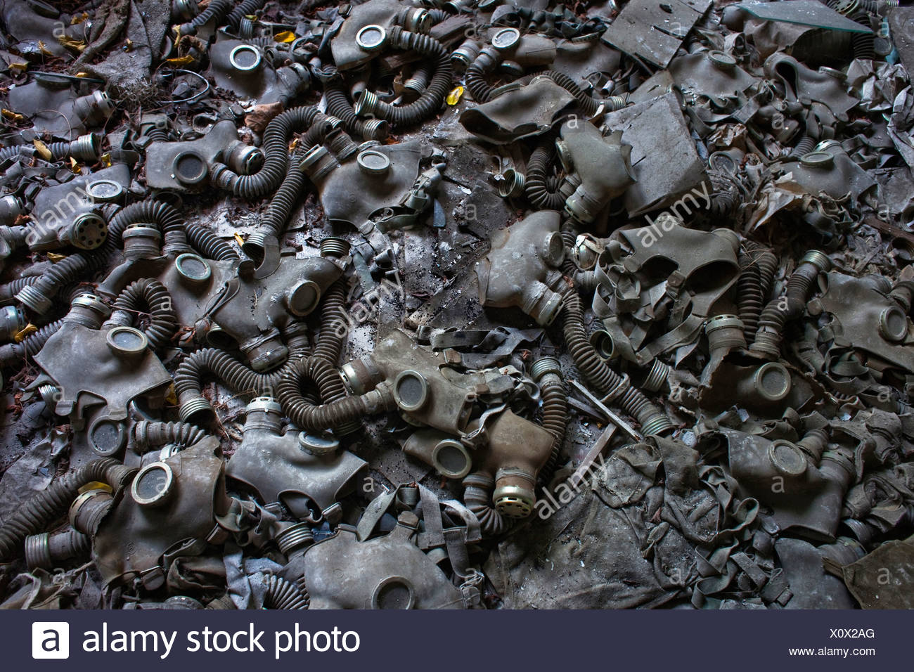 Chernobyl: 25 years later - Stock Image