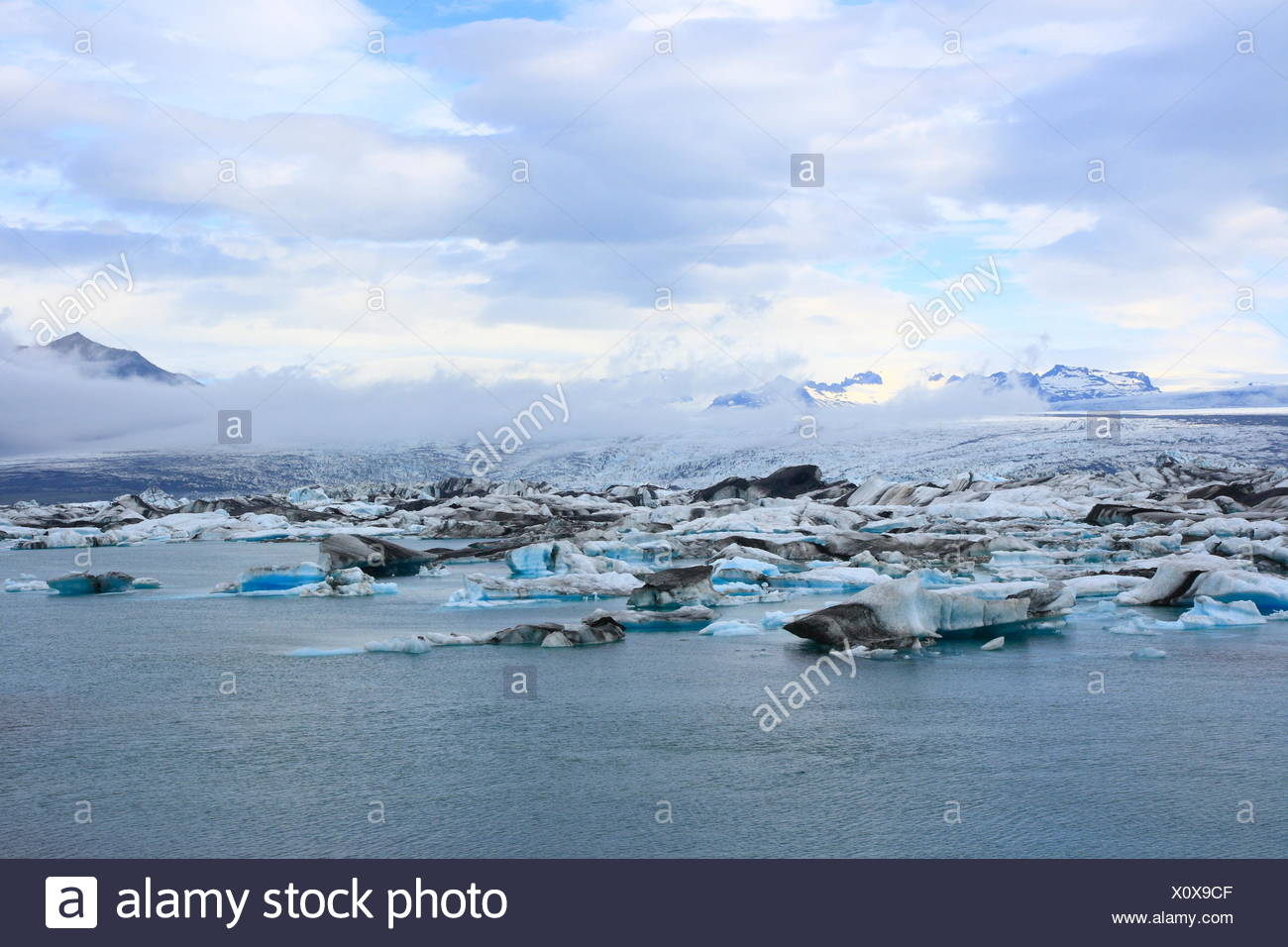 lakes seas - Stock Image