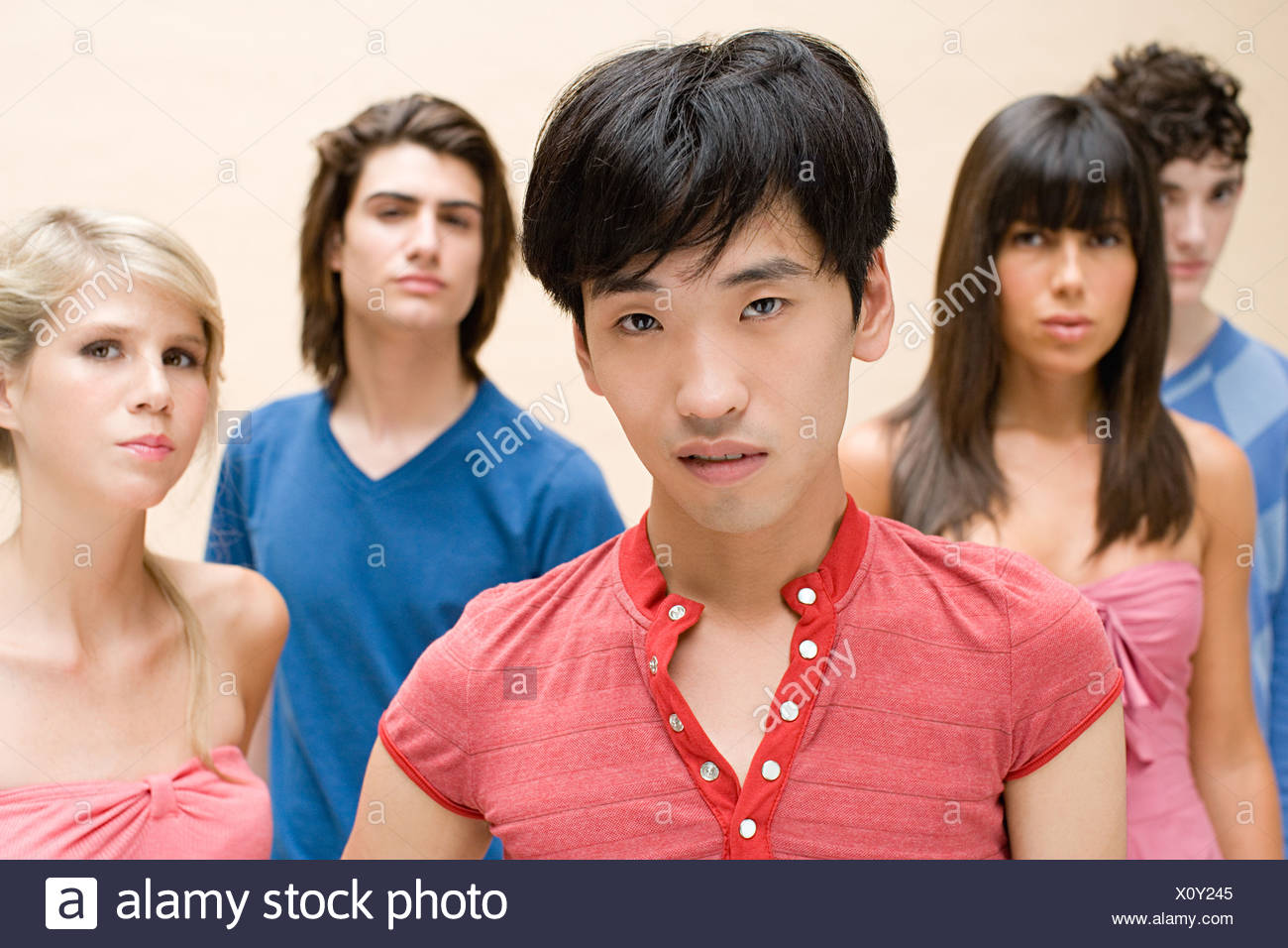 Young adults - Stock Image