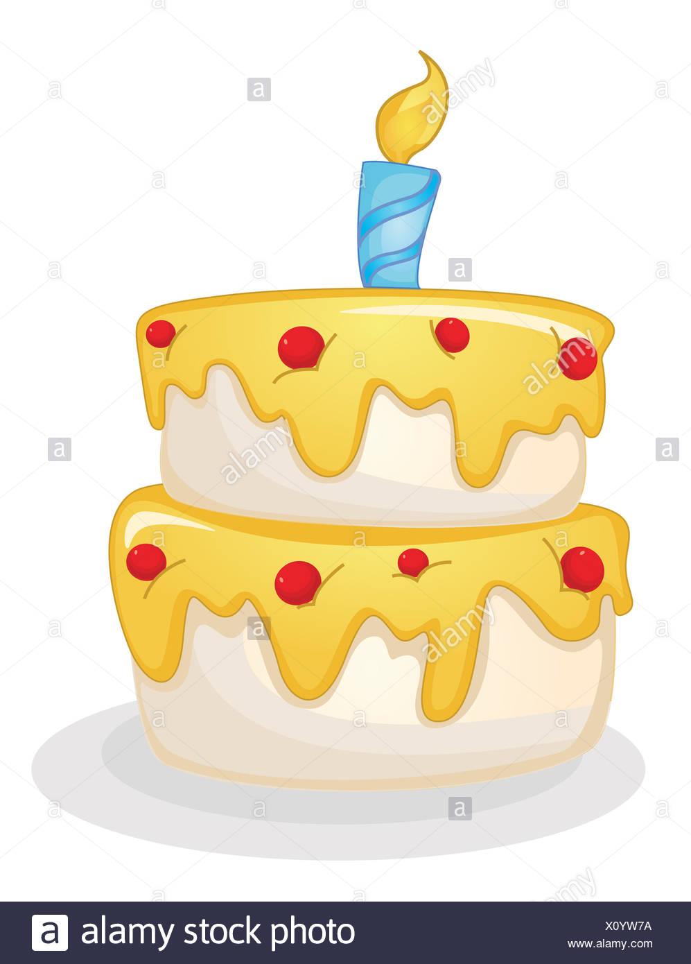 Cartoon Cake Stock Photos & Cartoon Cake Stock Images - Alamy